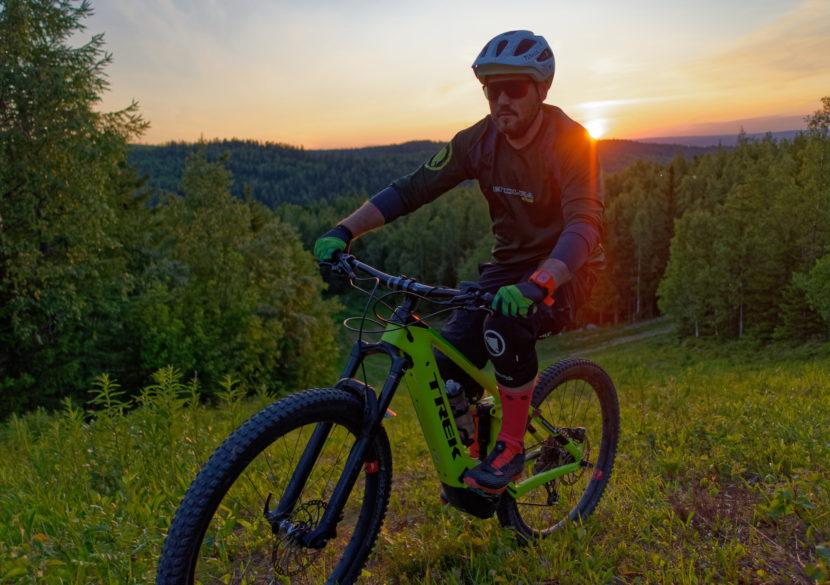 Tahko MTB ilta aurinko timpecam maastopyöräily